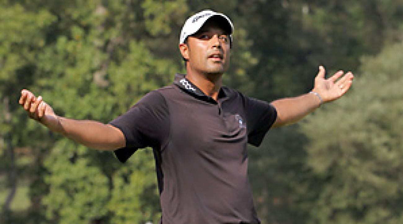 Arjun Atwal became the first Indian-born player to win a PGA Tour event.