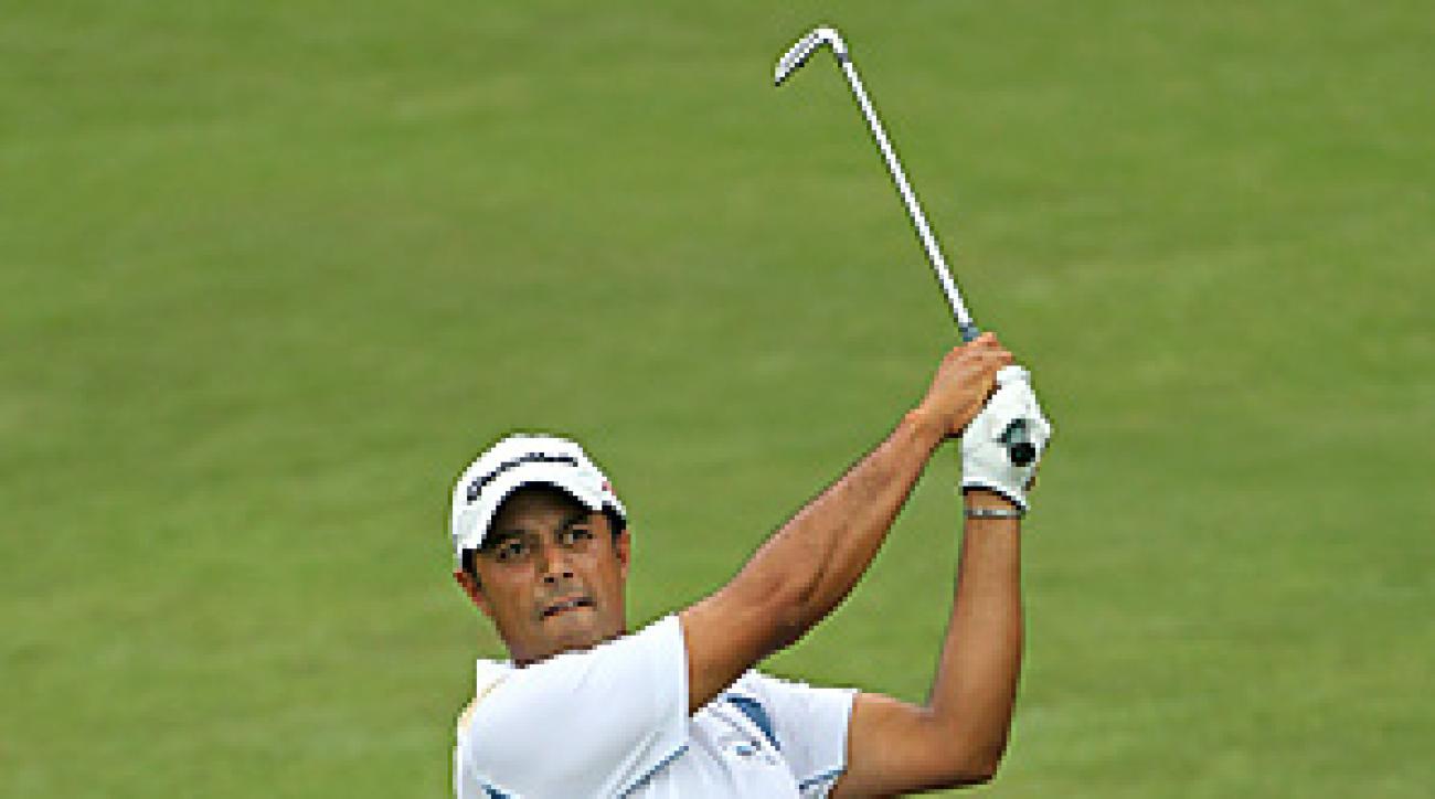 Arjun Atwal made nine birdies and no bogeys in his opening 61.