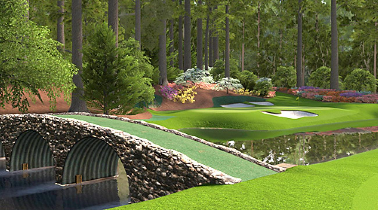 tiger woods video game to include augusta national