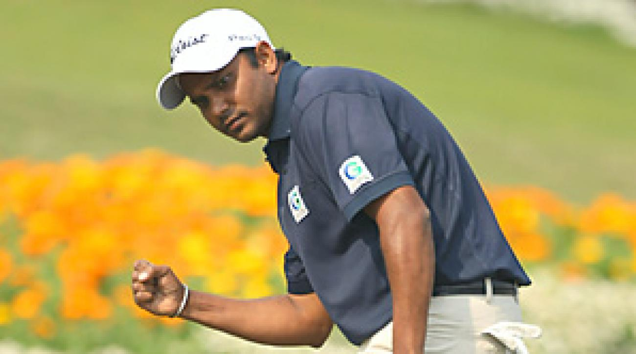 Shiv Shankar Prasad Chowrasia of India shot a final-round 67 to win the Avantha Masters.