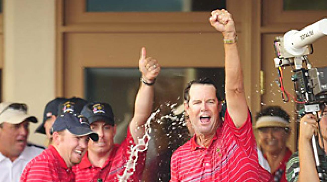 Paul Azinger captained the American team to an upset win in the 2008 Ryder Cup.