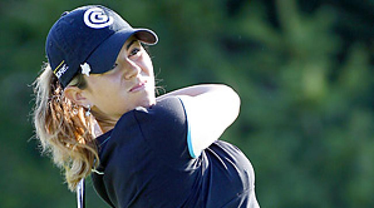 In her only start this season, Erica Blasberg tied for 44th at the Tres Marias Championship in Morelia, Mexico.