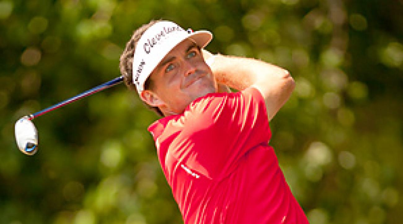 Keegan Bradley parred the opening playoff hole for his first career PGA Tour victory.