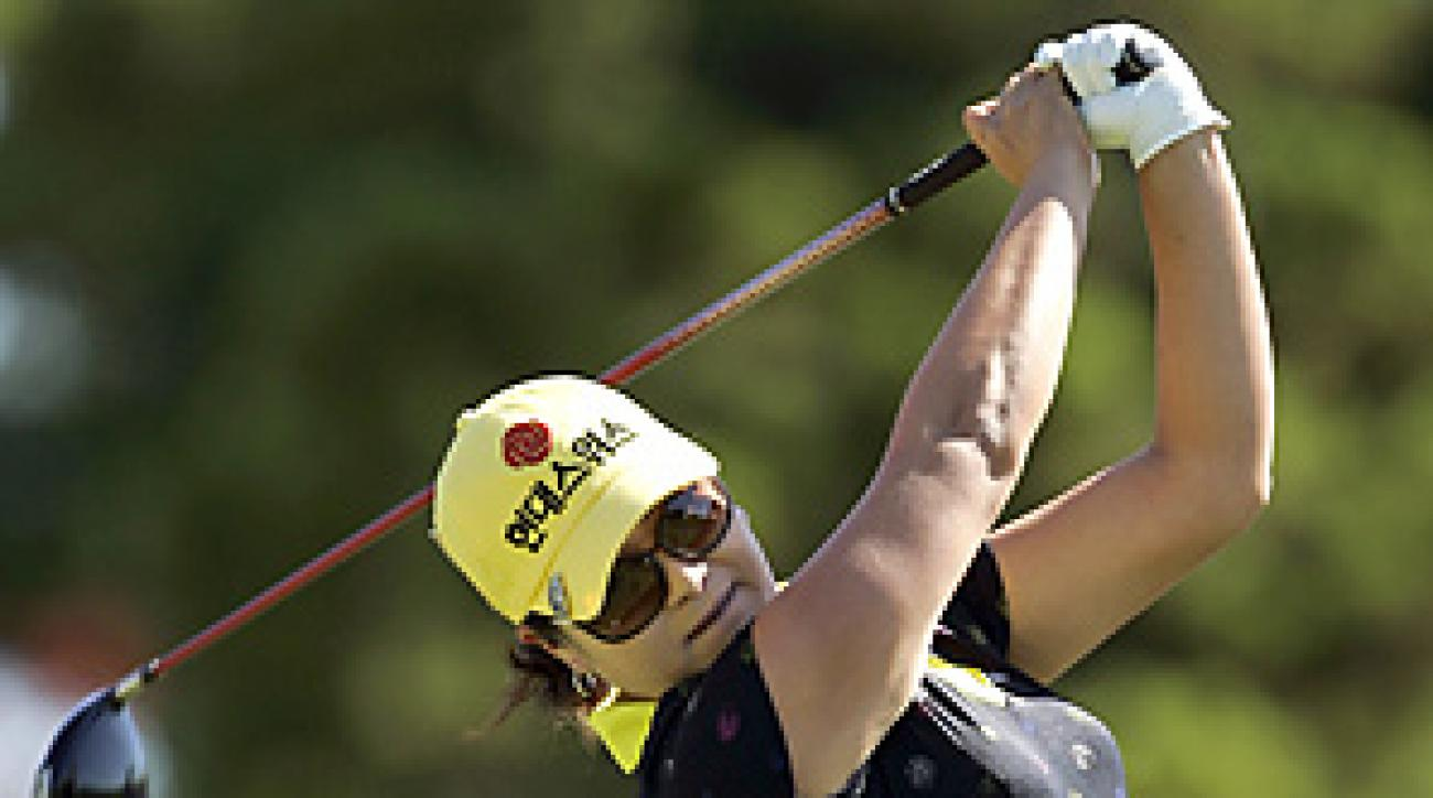 Hye Jung Choi is one of many players feeling the financial crunch of the LPGA's struggles.
