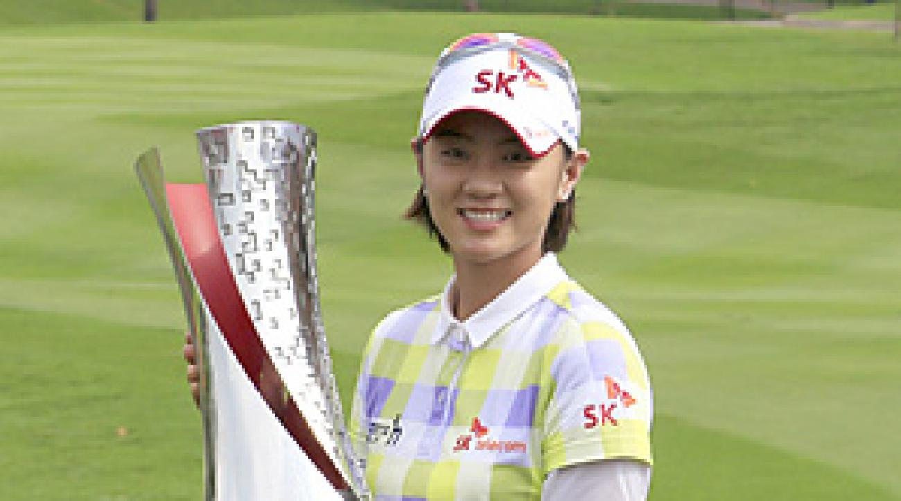 Na Yeon Choi finished at 15-under 269 at Kuala Lumpur Golf and Country Club and earned $285,000.
