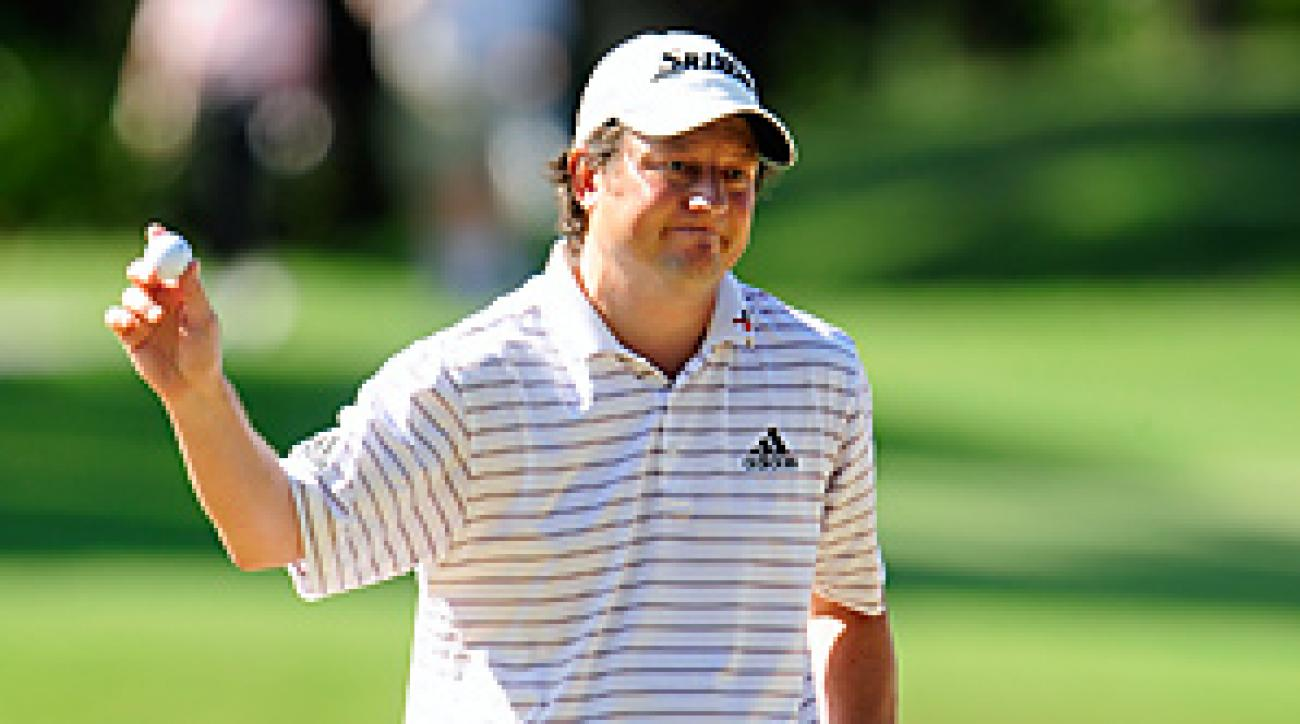 Tim Clark completed the biggest 36-hole comeback in the history of the Players Championship.