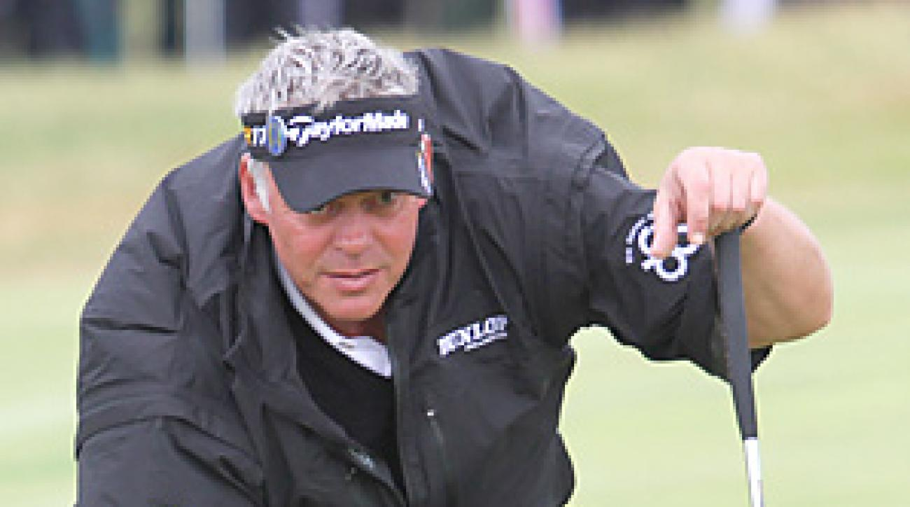Darren Clarke won the Open Championship by three shots.