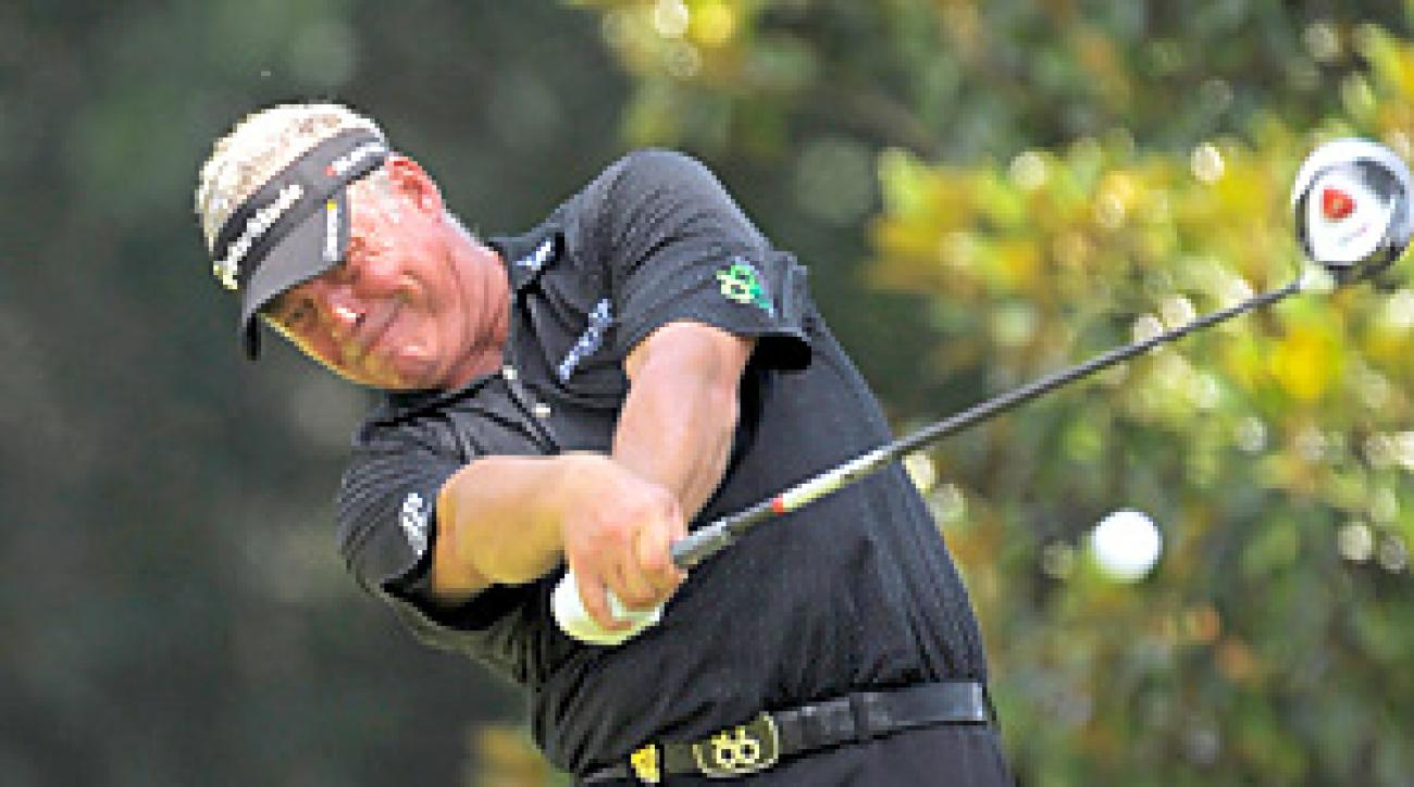 Darren Clarke said Wednesday that being appointed Ryder Cup captain is the biggest challenge left in his career.