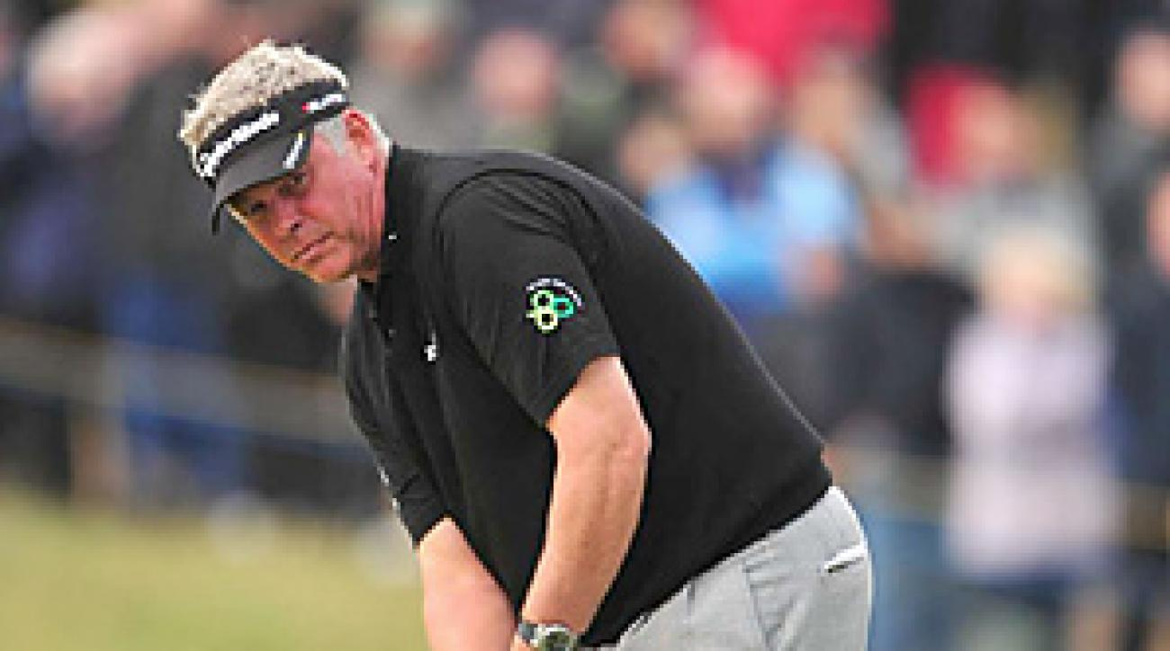 Darren Clarke won the Open Championship for his first career major title.