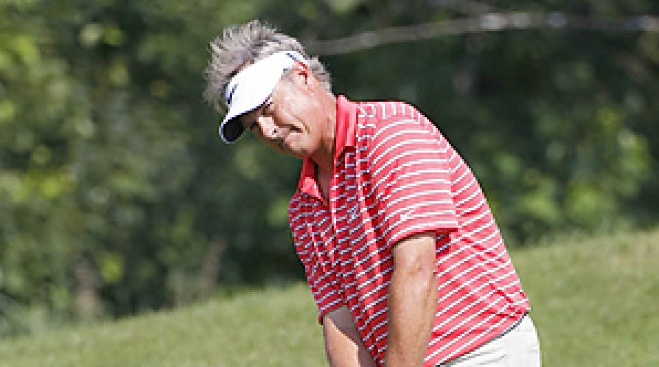 John Cook closed with a 6-under 66 on Sunday for a tournament-record 21-under total.