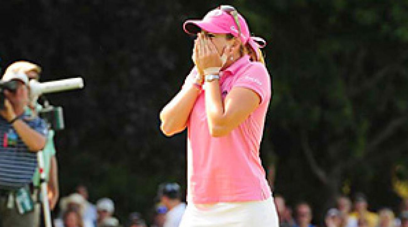 Paula Creamer after winning this year's U.S. Women's Open for her first major championship.