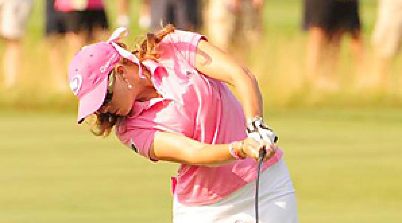 Paula Creamer was steady with her hybrids for most of the week at Oakmont.
