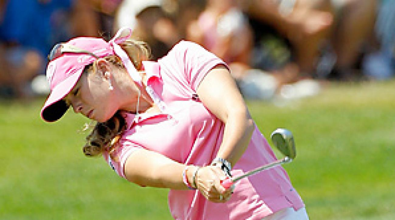 Paula Creamer won the U.S. Open by four shots for her first career major title.