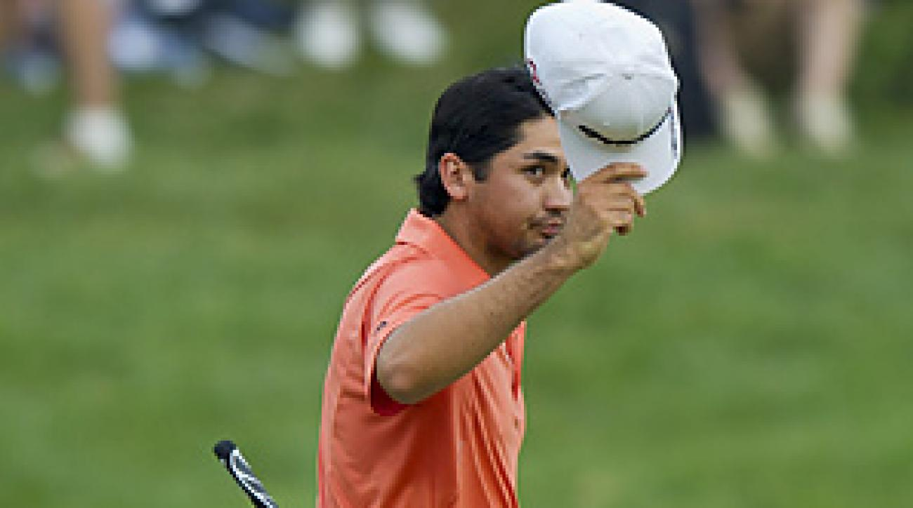 Jason Day finished at eight under par, eight strokes behind Rory McIlroy.