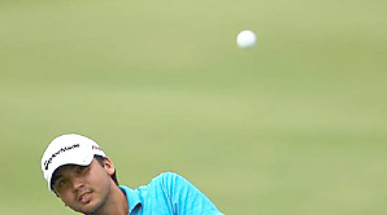 Jason Day's deft touch around the green helped earn him his first career PGA Tour victory.