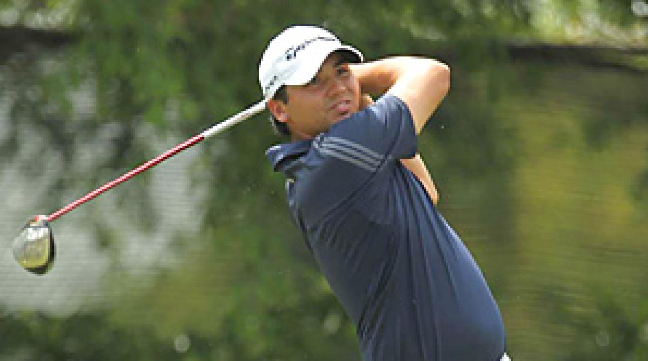 Jason Day made six birdies and two bogeys for a 4-under 66.