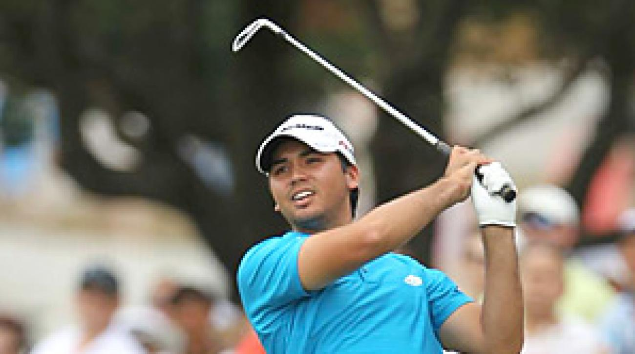 Jason Day survived six bogeys in his final round to pull out his first career PGA Tour victory.