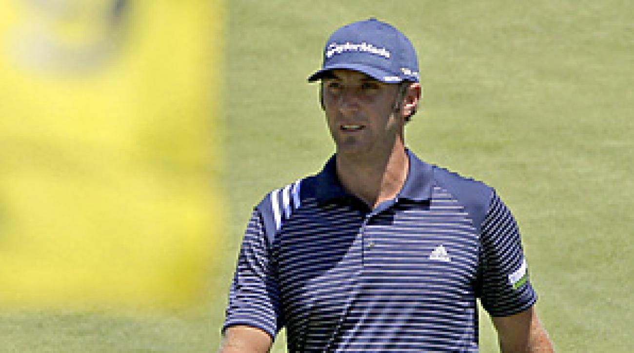 Dustin Johnson is looking for his first major title this week at Atlanta Athletic Club.