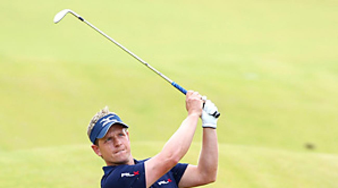 Luke Donald is attempting to become the first player to win the money titles in Europe and the United States.