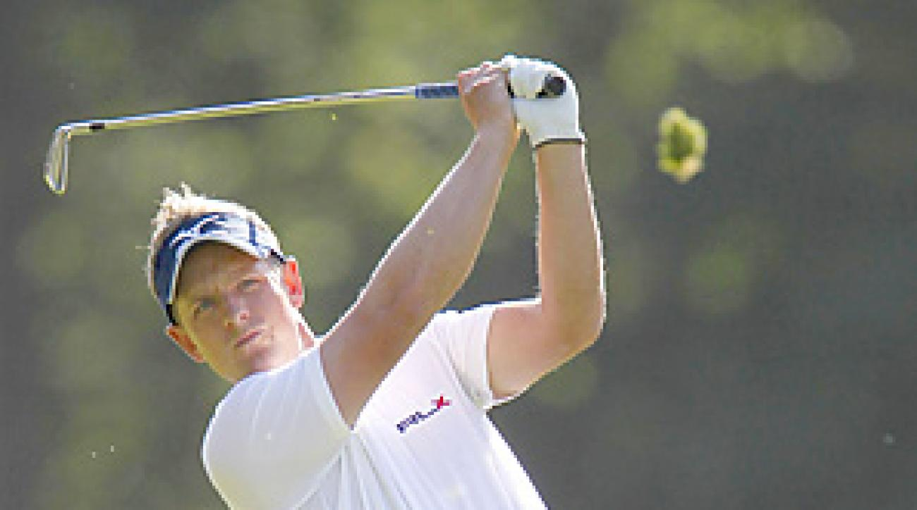 Luke Donald will take over the No. 1 ranking for the first time in his career.