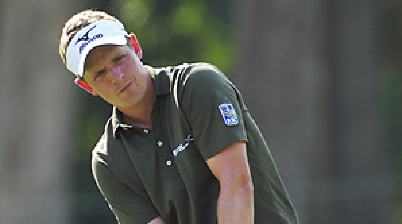 Luke Donald (shown here at the Tour Championship on Sept. 25) has a big lead in the European Tour's Race to Dubai.