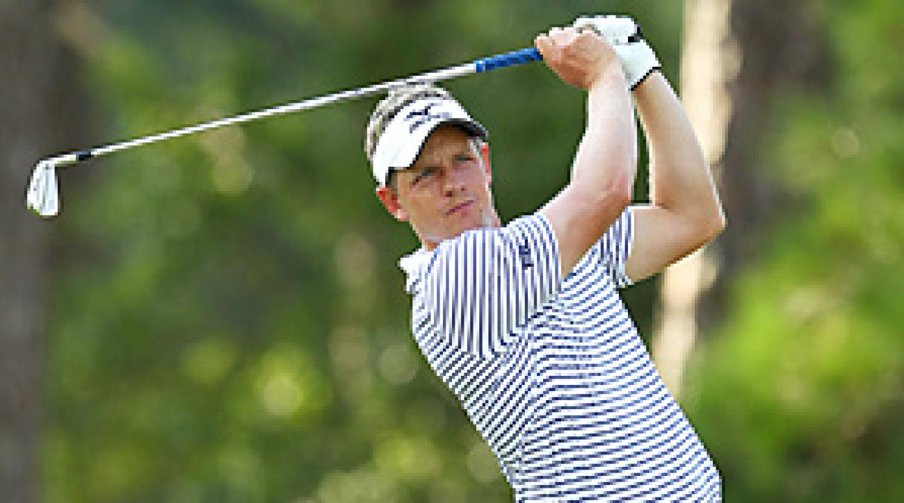 Top-ranked Luke Donald could clinch player of the year with a strong showing in the FedEx playoffs.