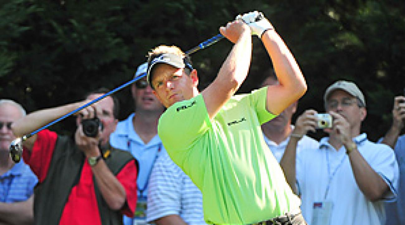 World No. 1 Luke Donald is seeking his first major title this week.
