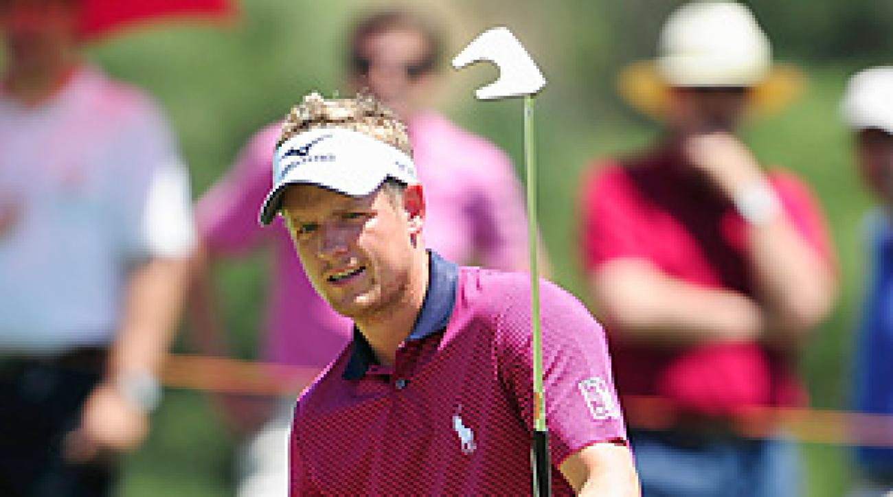 Luke Donald shot a final-round 5-under 67 to finish at 21-under 267.
