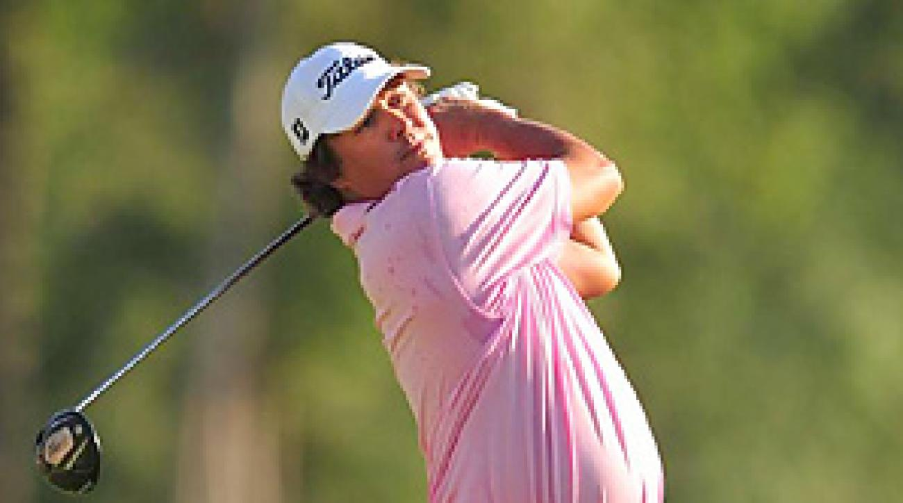 Jason Dufner blew a five-shot lead late in the final round before losing to Keegan Bradley in a playoff.