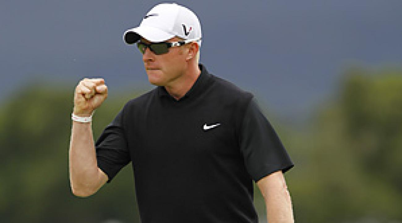 Simon Dyson won the Irish Open by one shot.