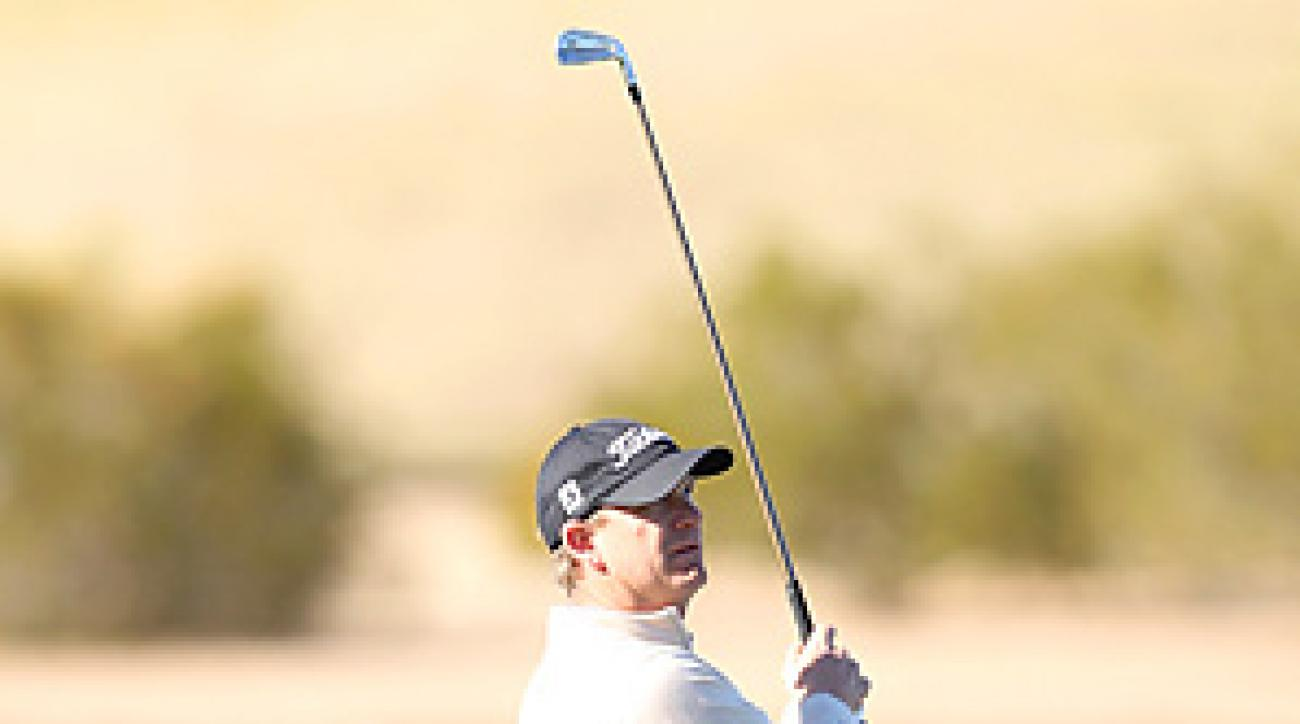 Tom Gillis is part of a four-way tie for the lead after a frosty first day in Phoenix.