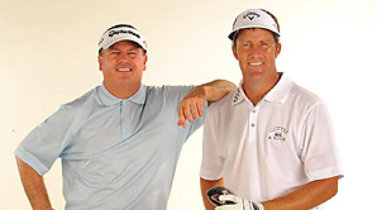 The newest members of Club 59: Paul Goydos and Stuart Appleby