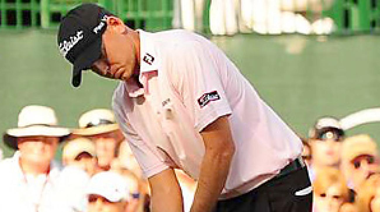 Bill Haas beat Hunter Mahan on the third hole of sudden death for the biggest win of his career.