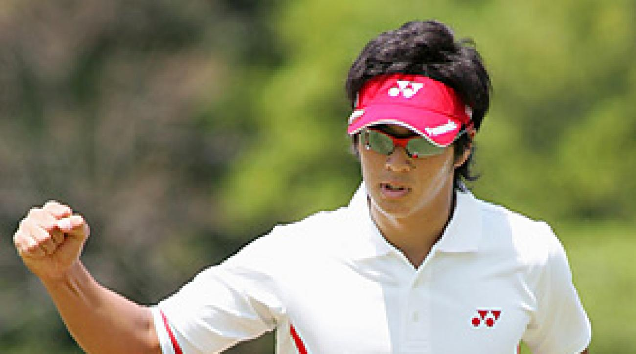 Ryo Ishikawa made 12 birdies and no bogeys en route to the lowest score ever recorded on a major tour.