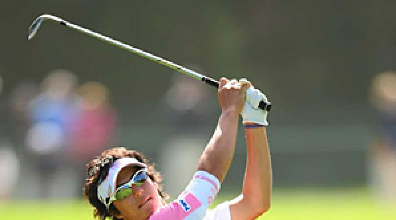 Ryo Ishikawa at the 2010 U.S. Open at Pebble Beach.