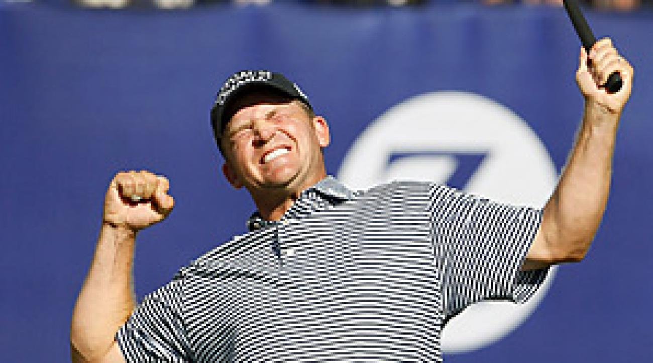 Jason Bohn knocked a wedge to within inches of the 18th hole to seal his second-career PGA win.