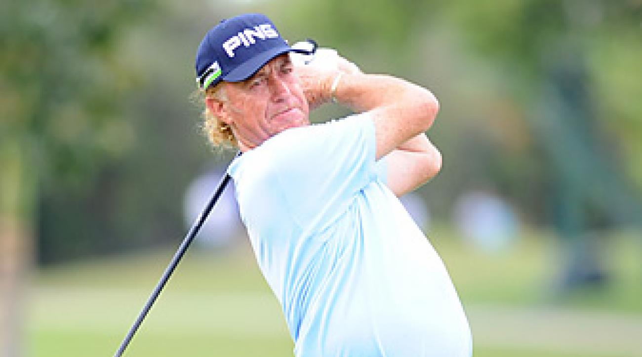 Miguel Angel Jimenez has reportedly given $560,000 in the past three years to operate the Andalucian Open.