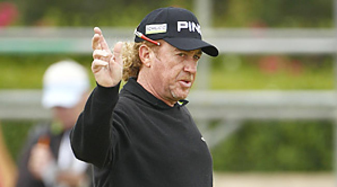 Miguel Angel Jimenez will hit the first tee shot in honor of fellow Spanish golf legend Seve Ballesteros.