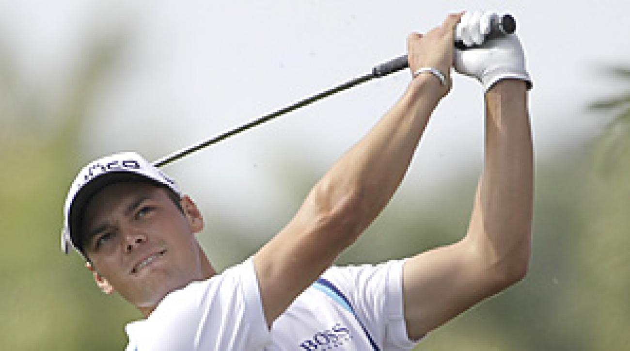 Martin Kaymer received a sponsor's exemption to play this week at Innisbrook.