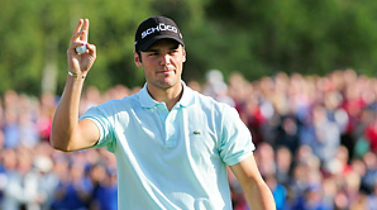 Martin Kaymer picked up his third victory of 2010.