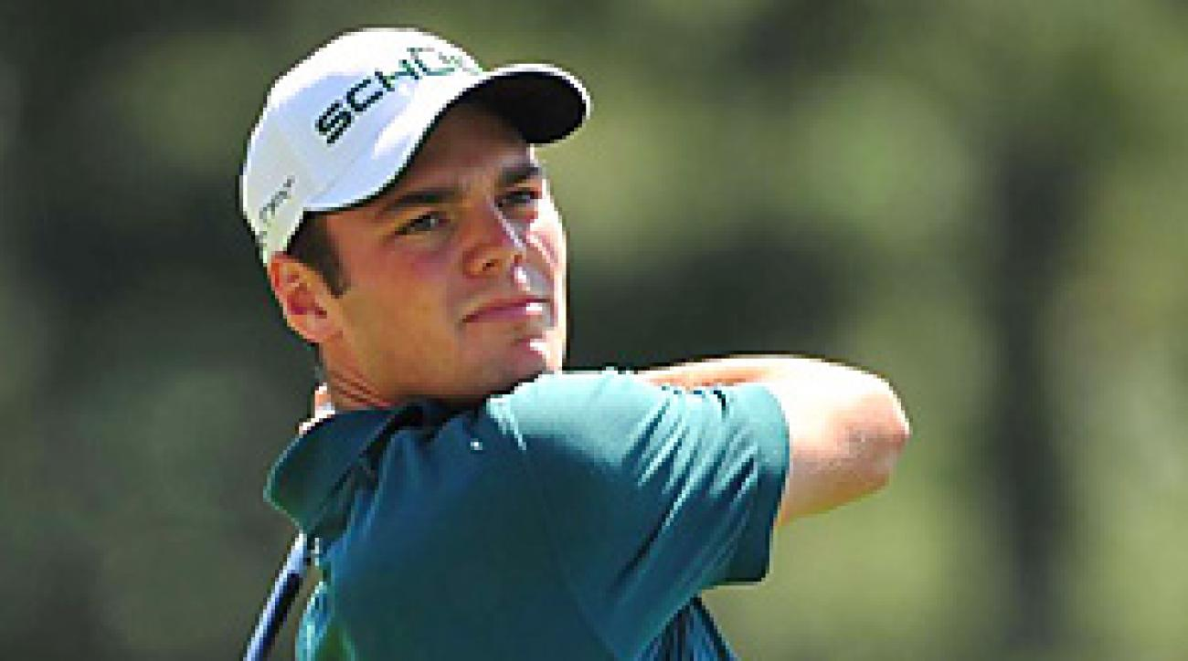Martin Kaymer shot s six-over 78 on Thursday at Augusta National.
