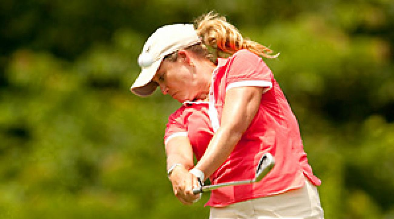 Christie Kerr will enter the Monday finish tied for the lead at 20-under par.