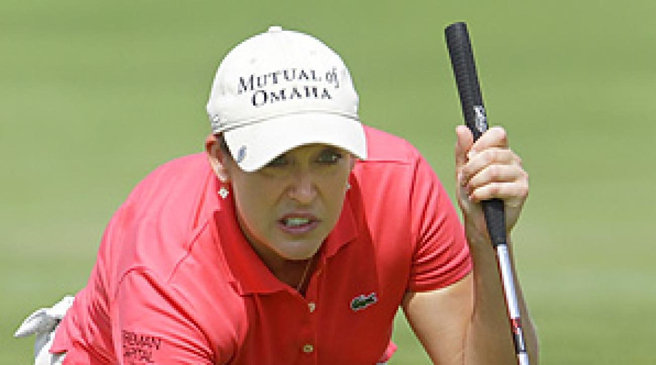 Cristie Kerr is the first American to win on the LPGA tour since Michelle Wie won the Lorena Ochoa Invitational last November.