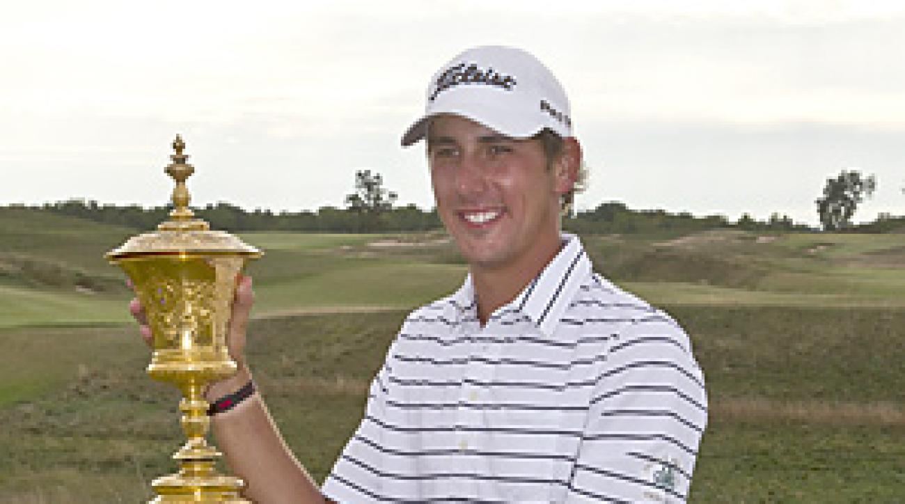 Kelly Kraft beat Patrick Cantlay 2-up to win the U.S. Amateur.