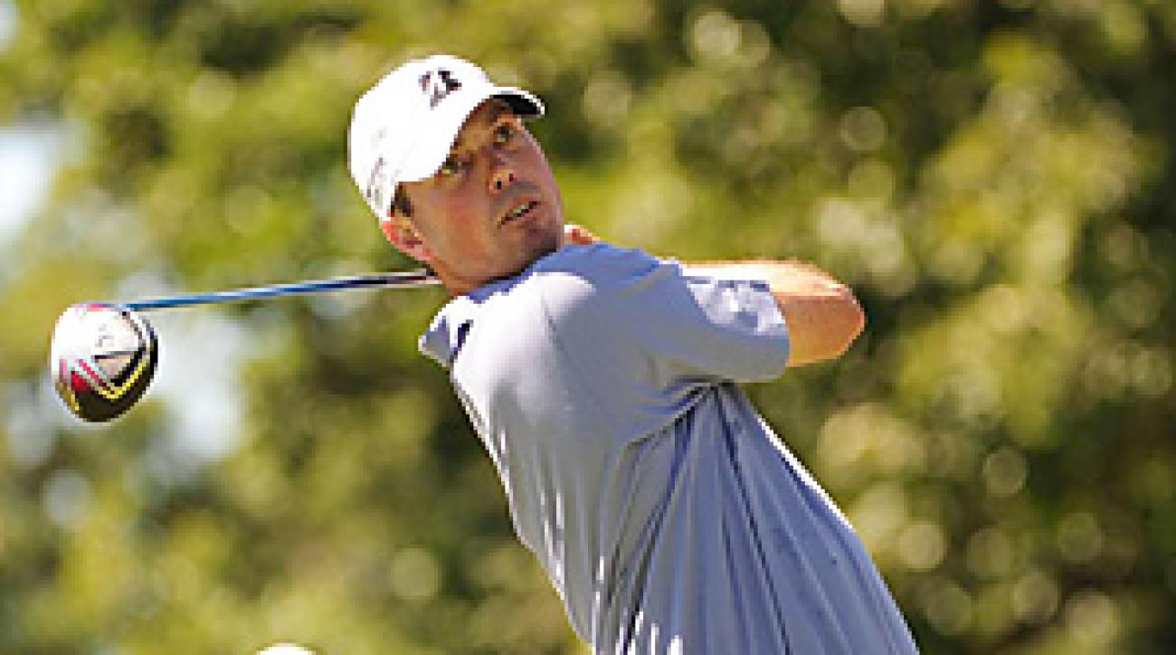 Matt Kuchar finished tied for third at the BMW Championship.