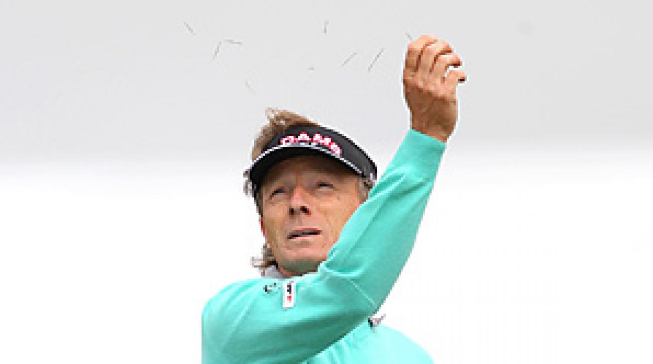 Bernhard Langer and the rest of the field could face tricky wind conditions all week at Royal St. George's.