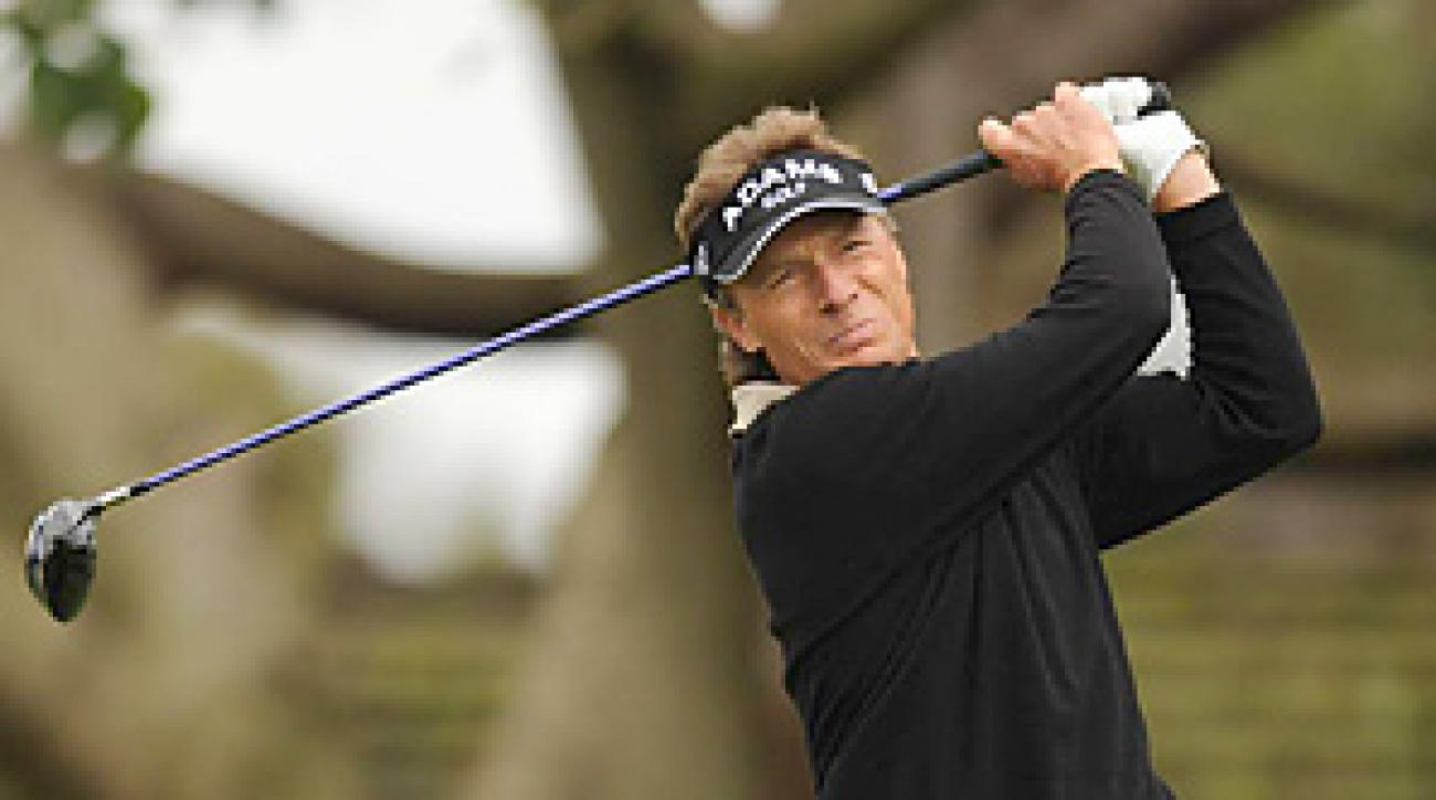 Bernhard Langer will miss two months following thumb surgery.
