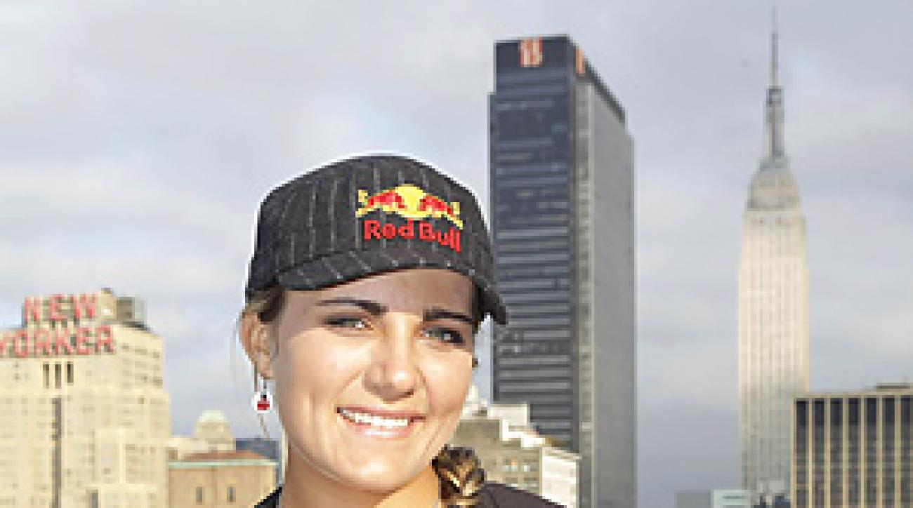 Lexi Thompson did a media tour in New York in the days following her first career victory.