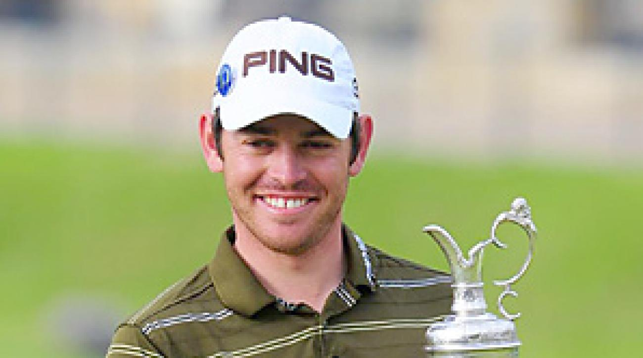 """Golf's new """"It"""" guy, Louis Oosthuizen, will play at the Scandinavian Open this week."""