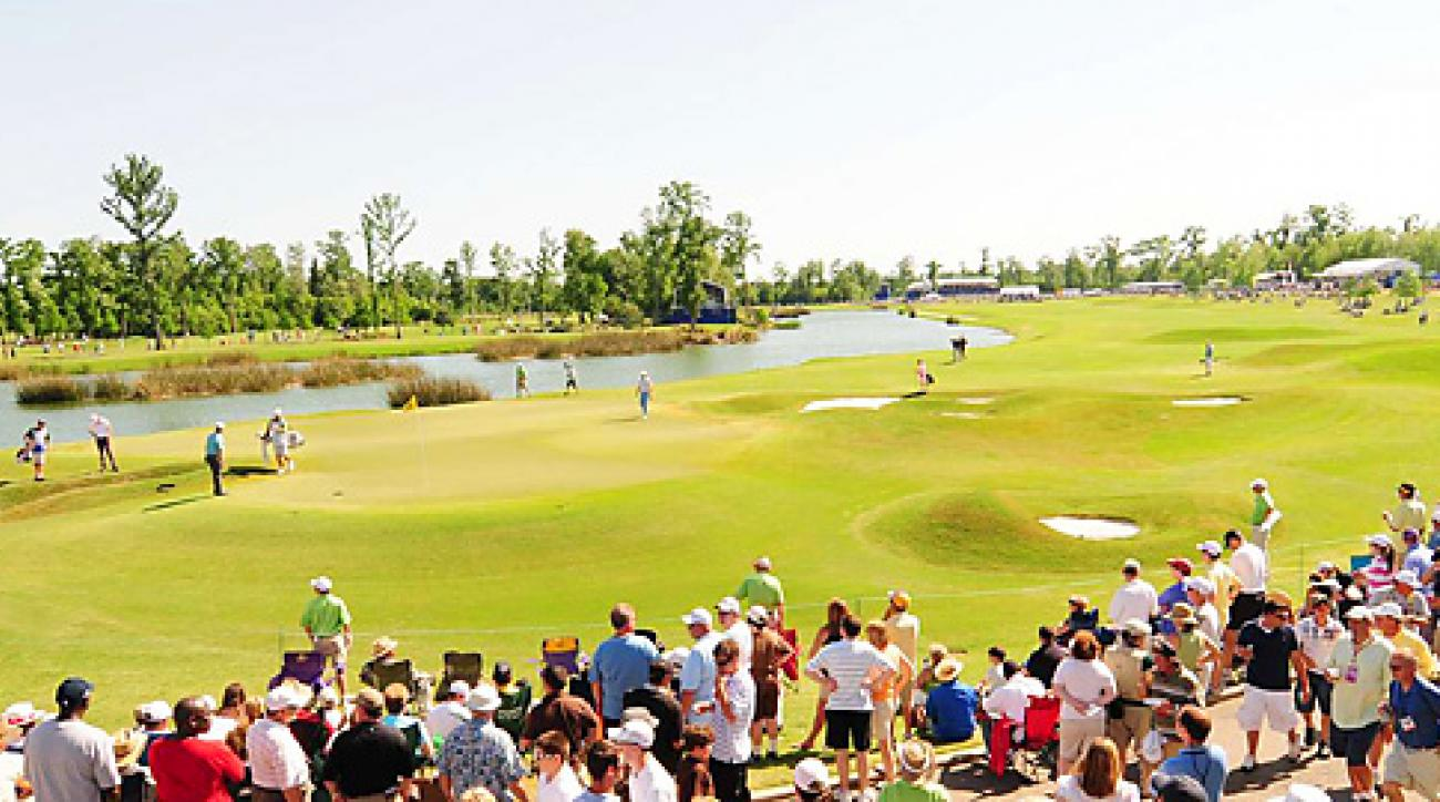 TPC Louisiana is the site of the PGA Tour's annual Zurich Classic.